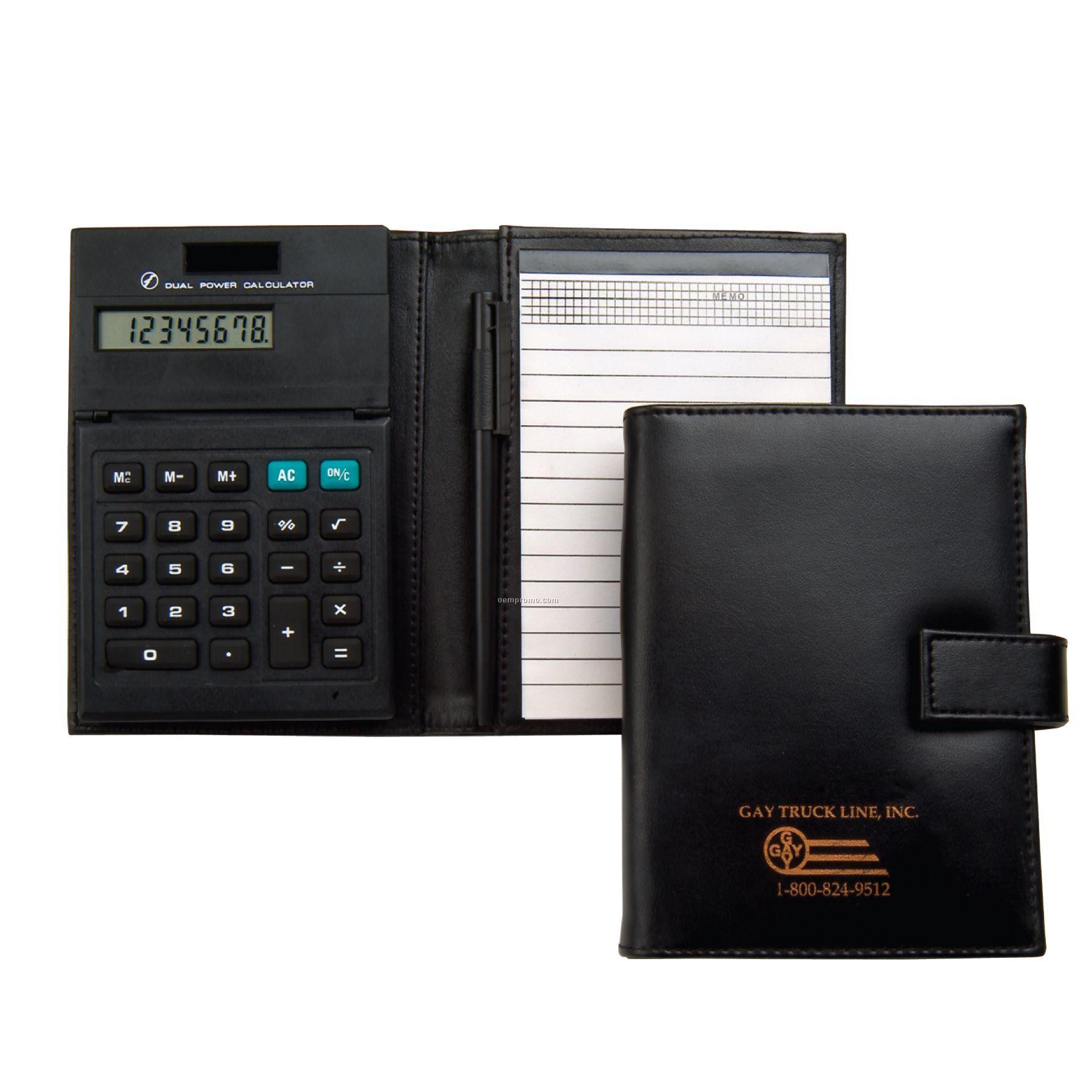 Junior Folder W/Dual Power Calculator