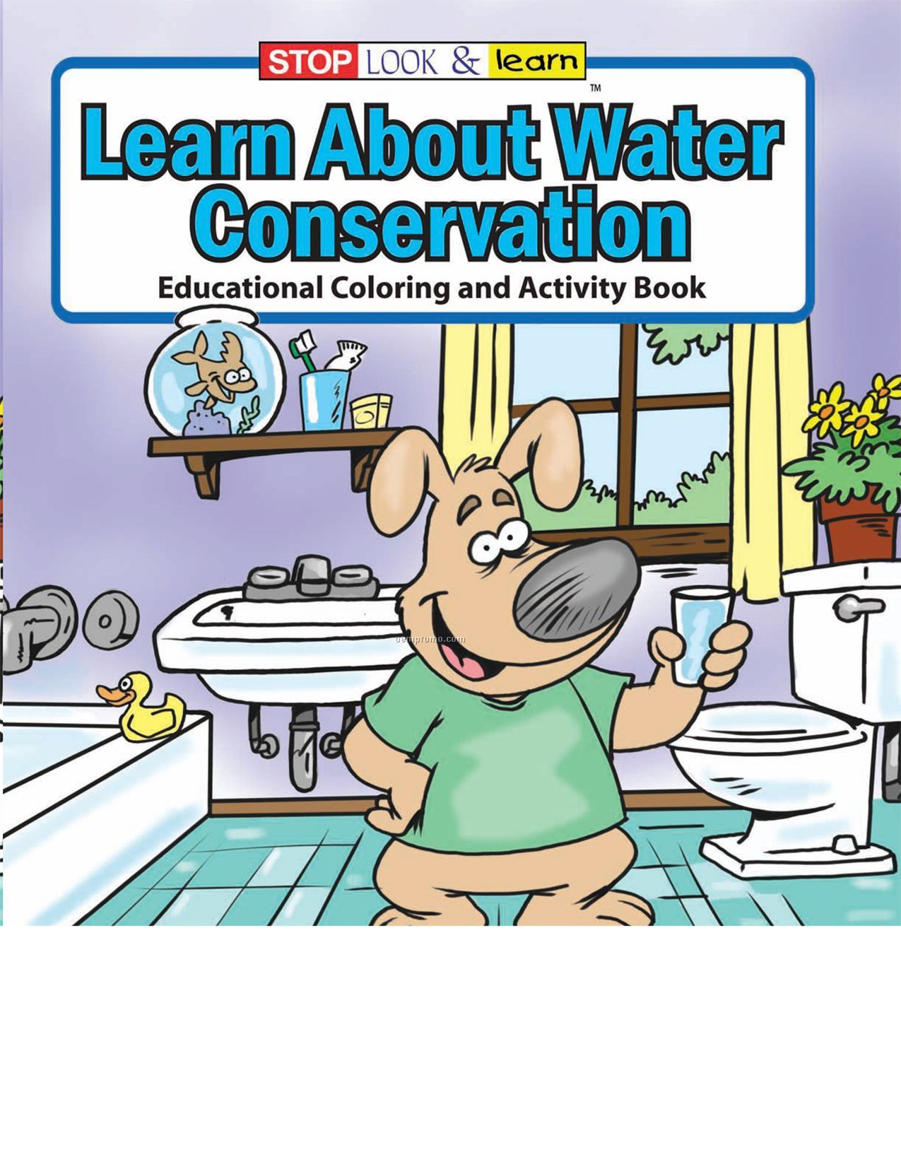 Learn About Water Conservation Coloring Book Fun Pack,China ...