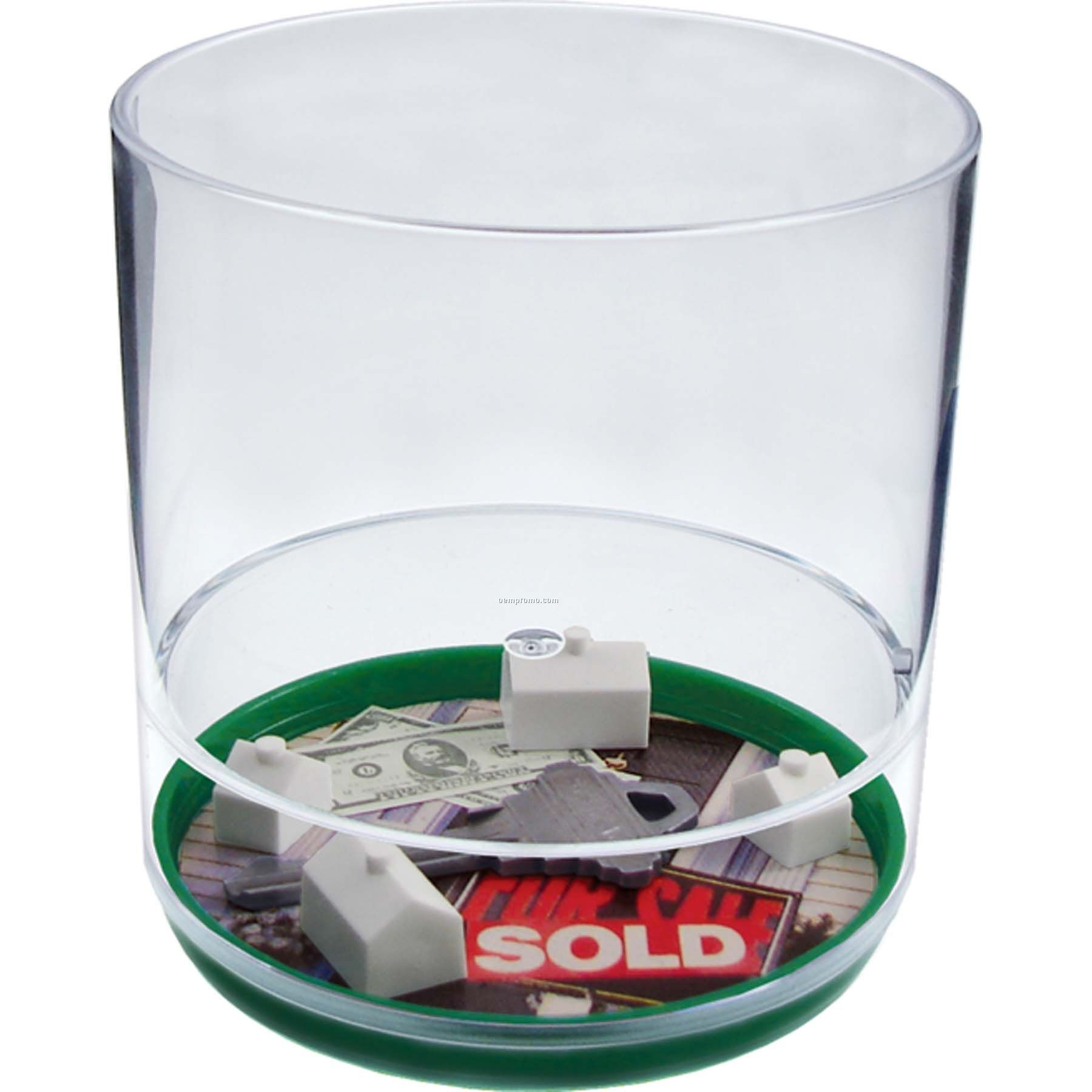 On The House 12 Oz. Compartment Tumbler