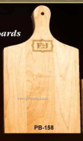 """Paddle/Sandwich/Cheese Board: 15.75""""X7.5""""X0.75"""" Laser Engraved"""