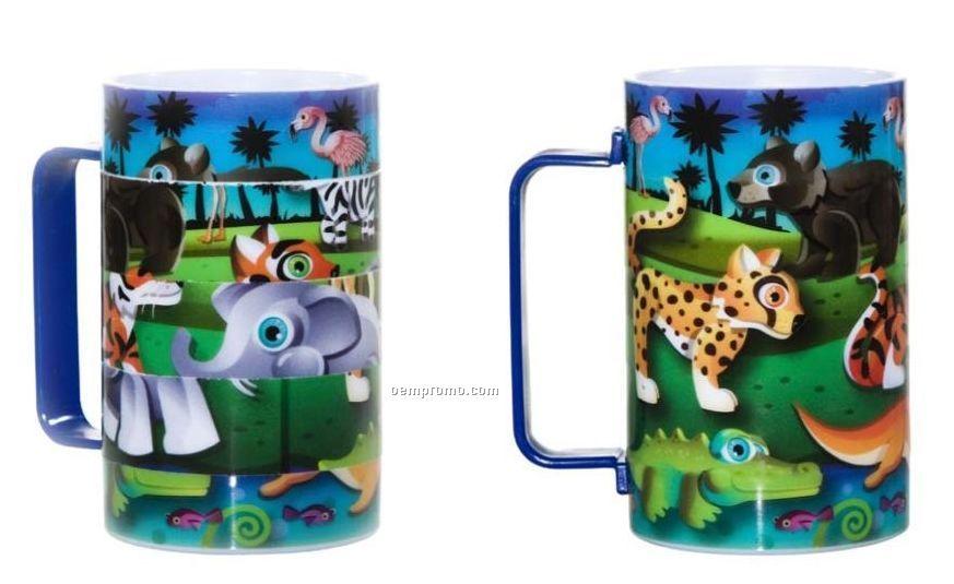 Puzzle Cup W/ C Handle