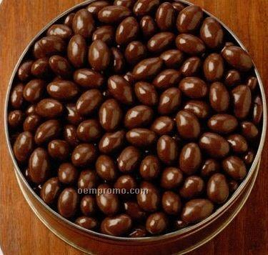 20 Oz. Chocolate Covered Almonds Designer Gift Tin