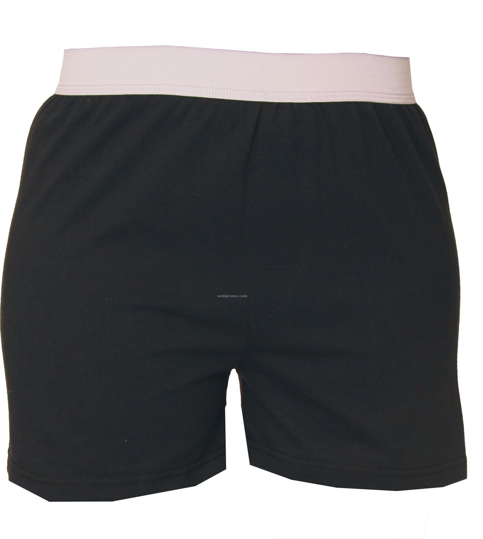 Adult Black Back To Basic Boxer