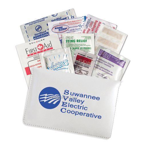 First Aid Kit W/Vinyl Wallet