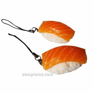 Sushi Strap Cellphone Charm