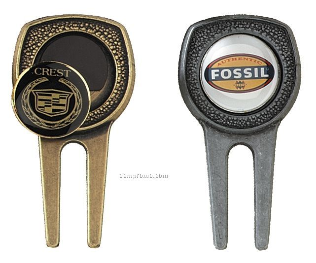 """Cast Divot Tool With 7/8"""" Ball Marker"""