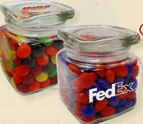 Mini Square Top Jar W/ Hershey's Kisses