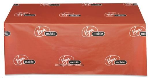 """Plastic Table Cover (65""""X132"""")"""