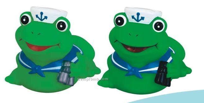 Rubber Sailor Frog