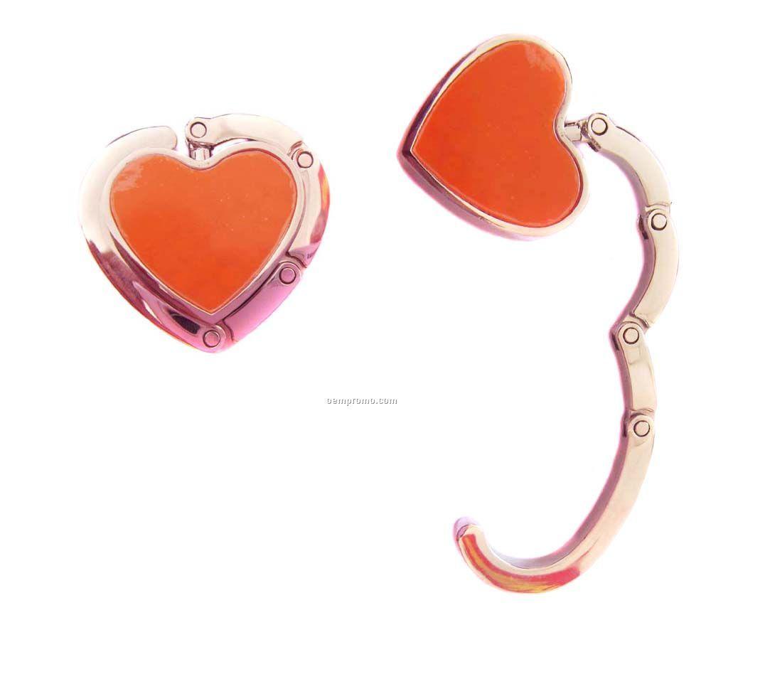 Heart Shape Bag Hooks