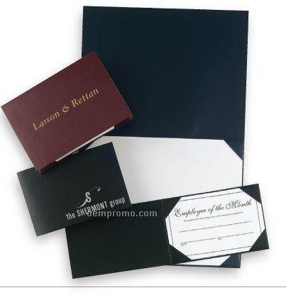 Pajco Leatherette Certificate Holder (7