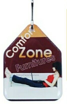 Zipper Pull (Up To 1 Sq. In. Double Sided Dome)