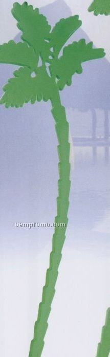 "7.5"" Palm Tree Stirrer (Imprinted)"