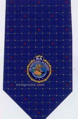 Custom Logo Printed Polyester Tie - Pattern Style O