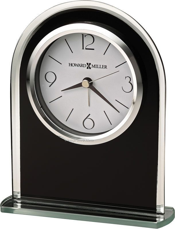 Howard Miller Ebony Luster Clock (Blank)