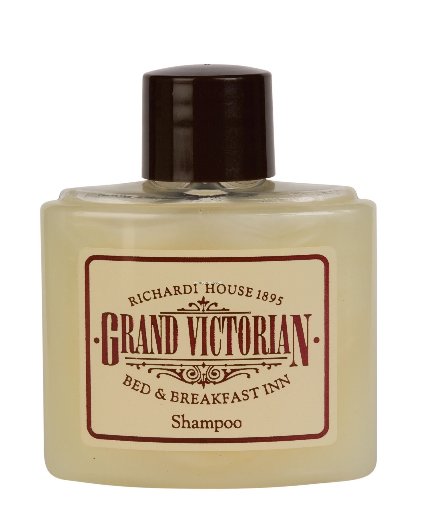 Pro Quality Shampoo 1 1/2 Oz. Wide Oval Bottle