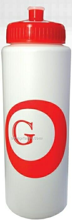 32 Oz. Sports Bottle With Push Pull Lid