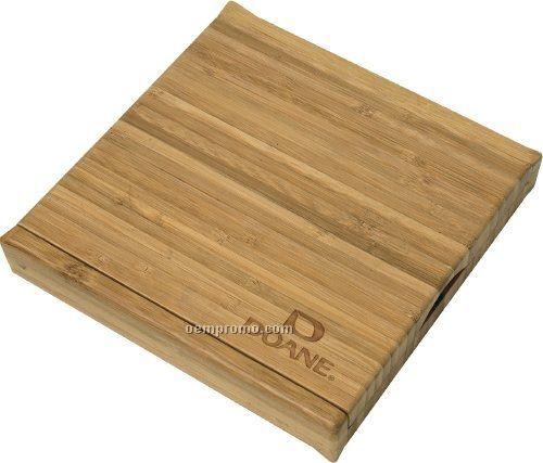 5 Piece Bamboo Cheese Set