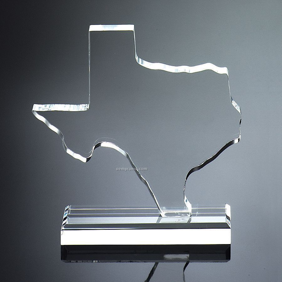 "9""X6 3/4""X2"" Texas Shape Award"