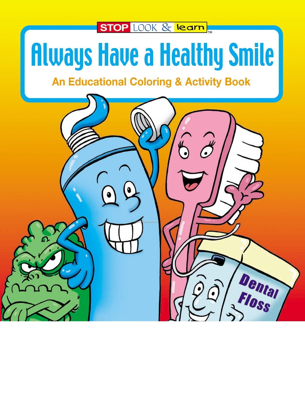 Always Have A Healthy Smile Coloring Book Fun Pack