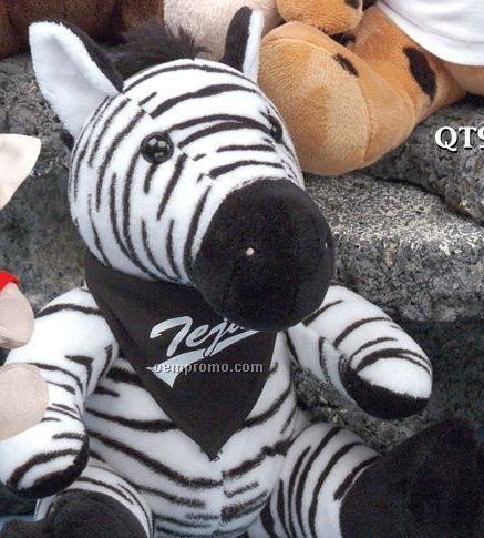 Q-tee Collection Stuffed Zebra