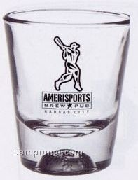 1.5 Oz. Baseball Sport Bottom Shot Glass