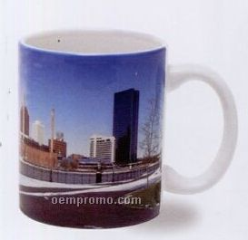 11 Oz. White C-handle Sublimated Mug