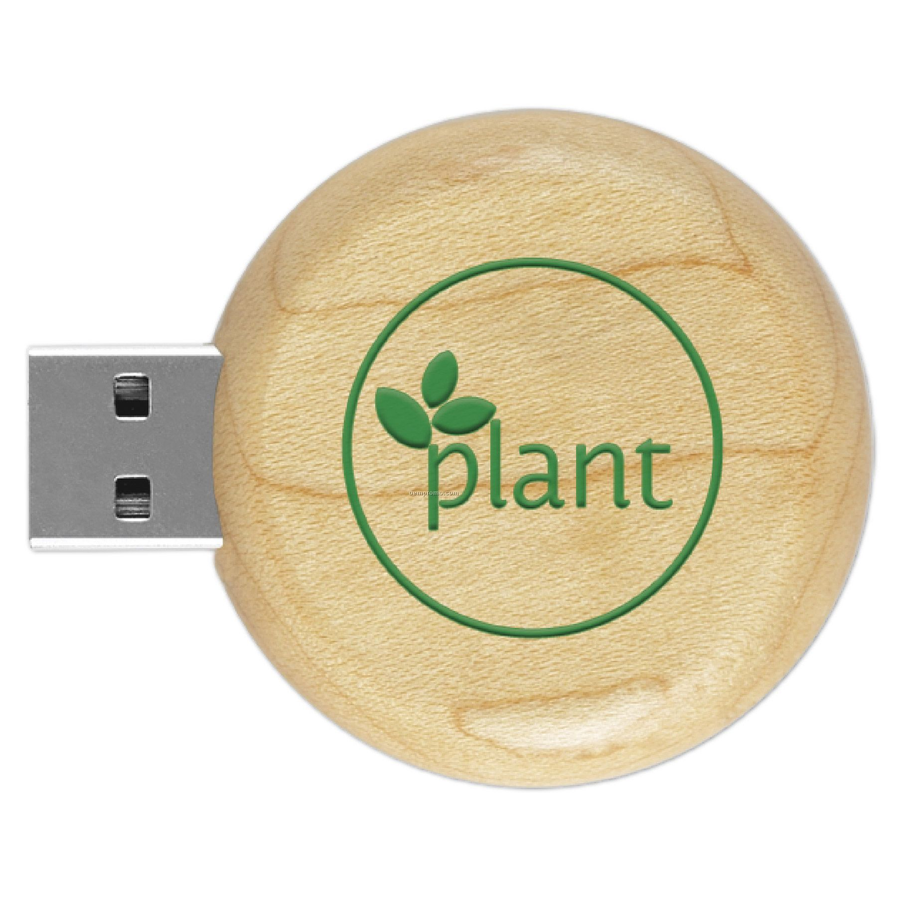 Eco Round Wood USD Drive Stick