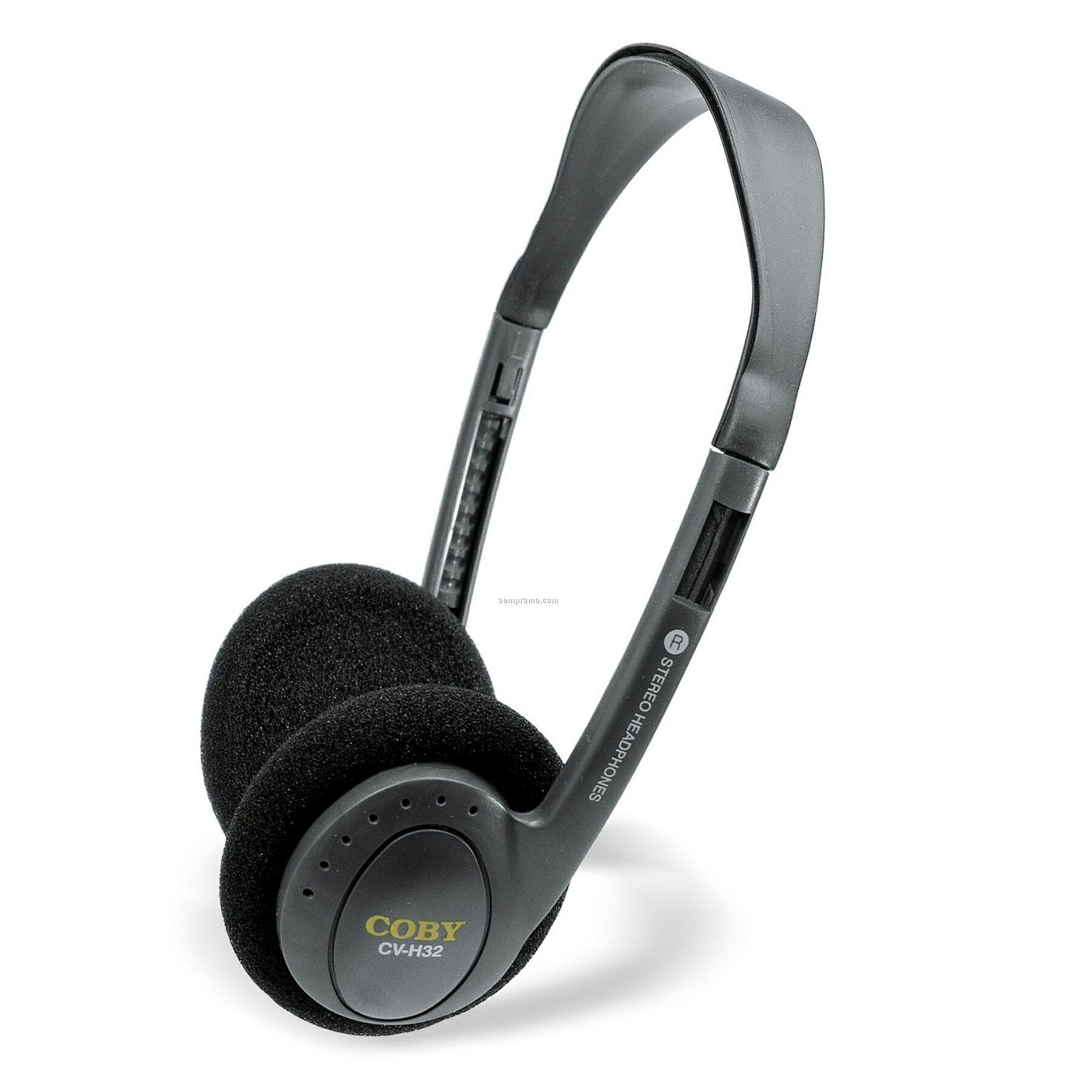 Lightweight Stereo Headphones