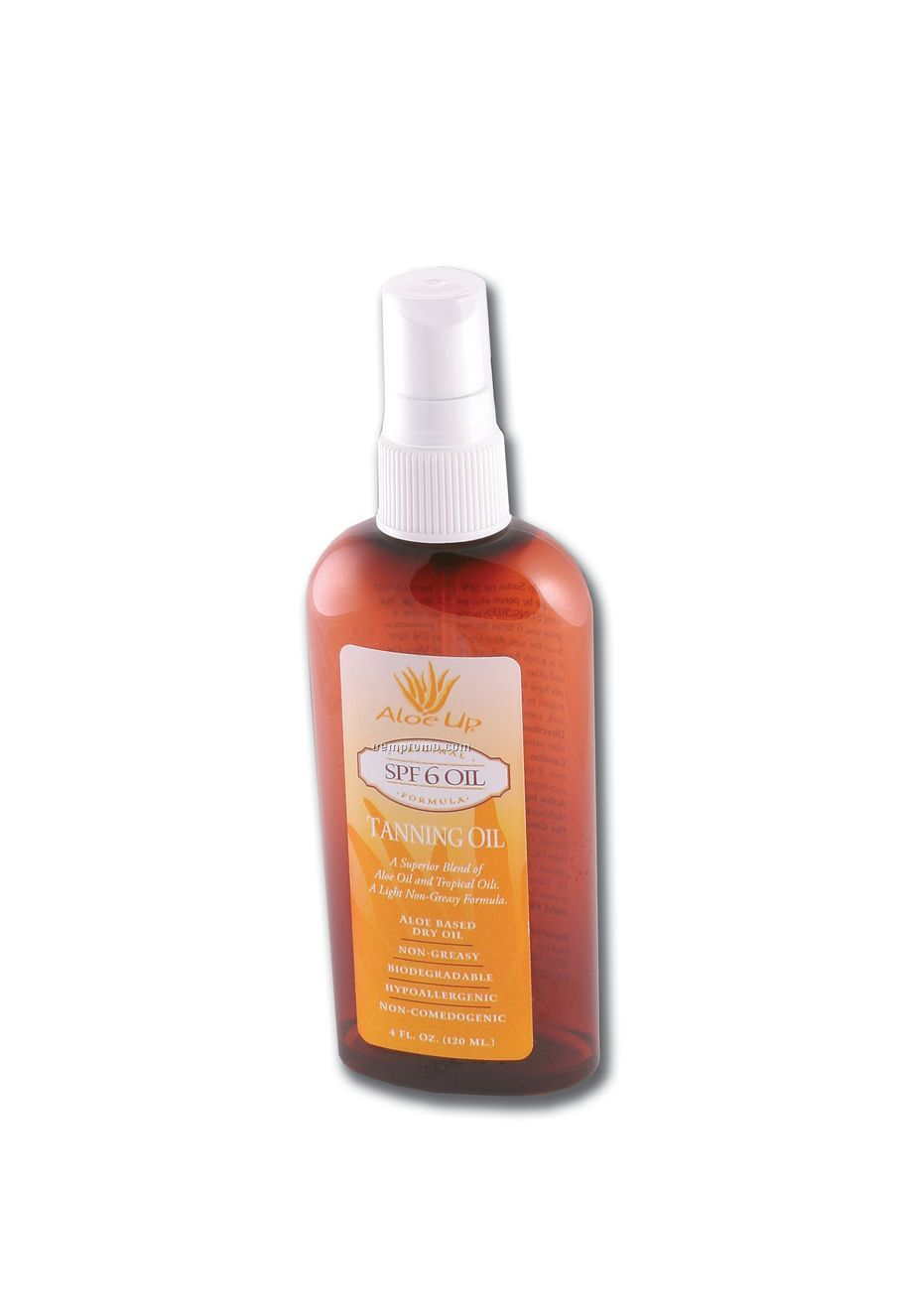 Suntan oil with spf