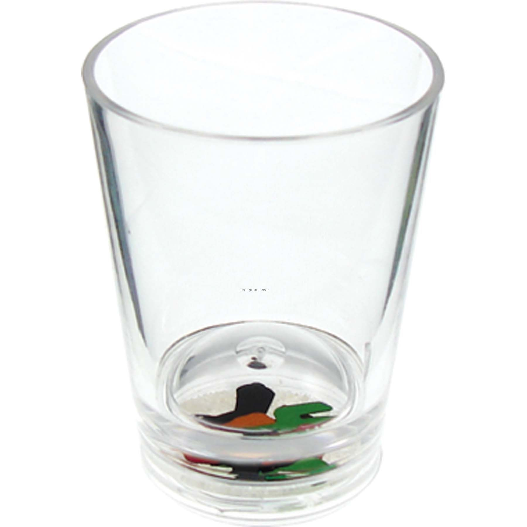 1.25 Oz. Happy Trails Compartment Shot Glass