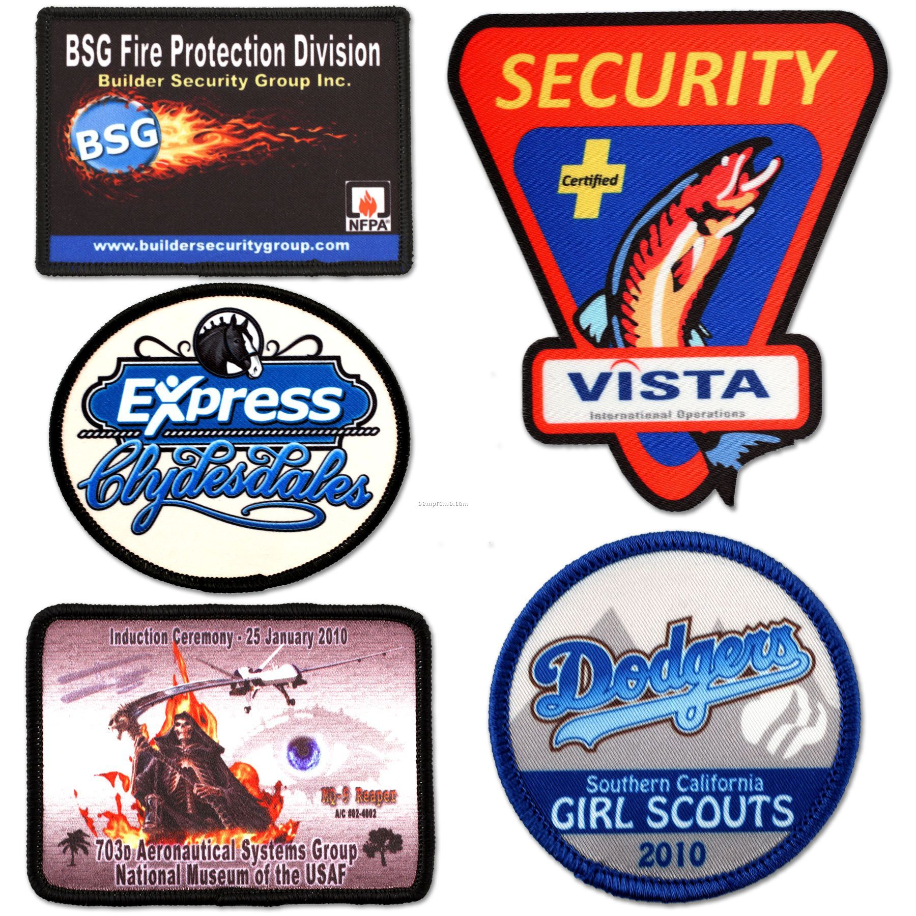 4-color Process / Sublimated Patch (12 Sq. In.)