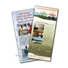 "Full Color Rack Cards, 4 1/4"" X 11"""