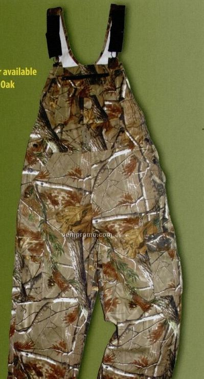 Walls Ultra Lite Bib Overalls - Realtree Brown Camouflage
