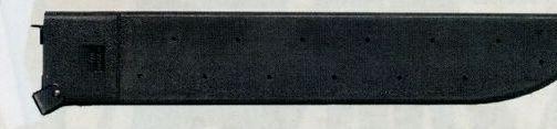 Black Gi Plus Plastic Machete Sheath With Sharpener
