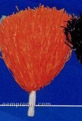 Orange Pom Poms