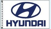 Stock Dealer Logo Flags - Hyundai