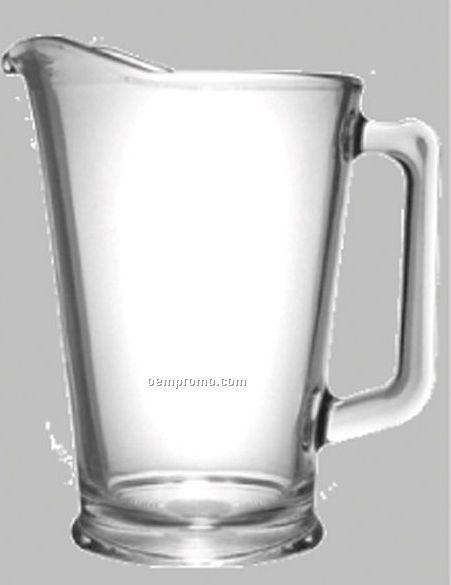 78 Oz. Glass Pitcher W/ Open Handle