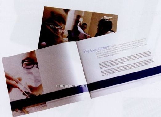 """Sheet Brochure (Trifolds To 3 5/8""""X8 1/2"""")"""