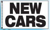 Stock Dealer Logo Flags - New Cars