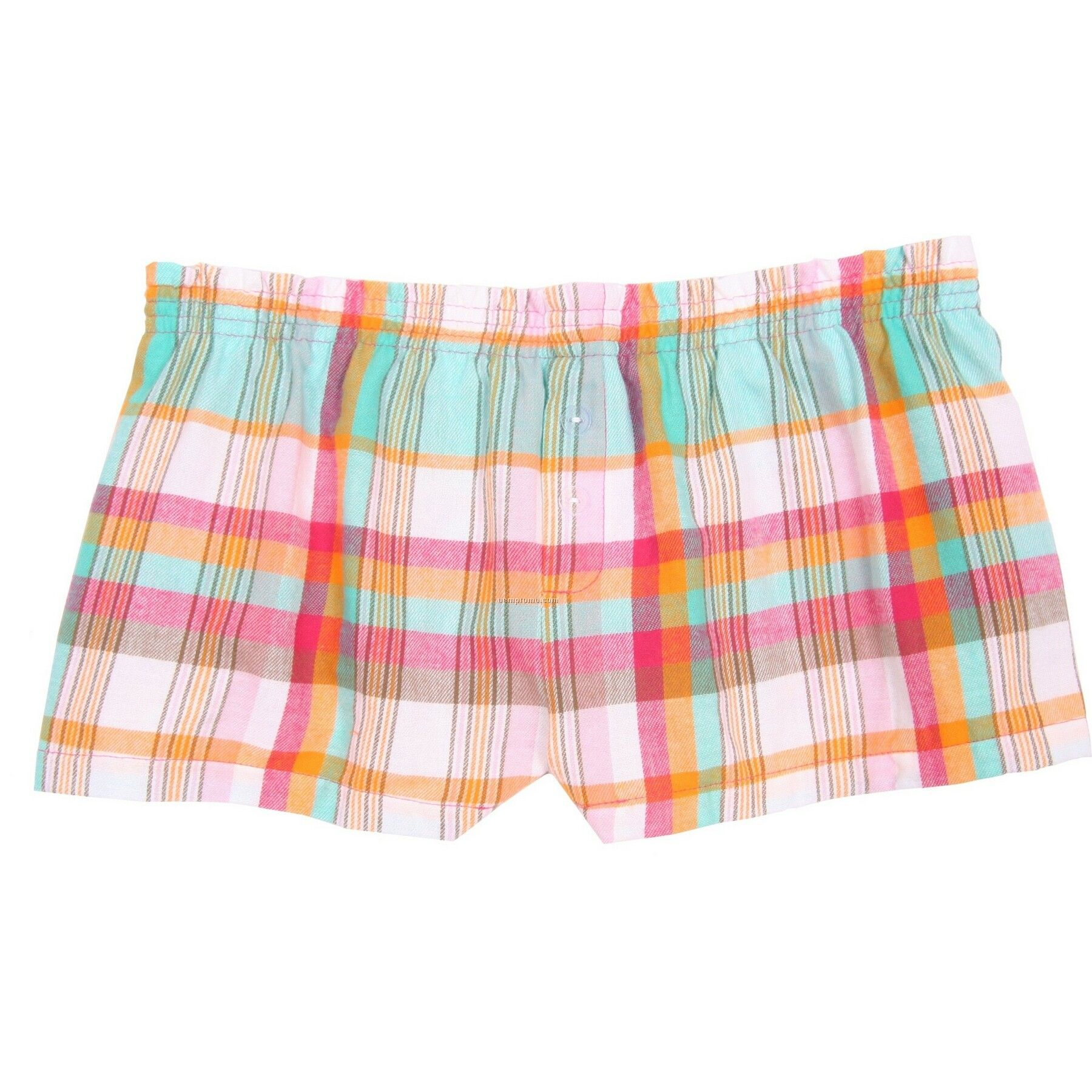 Youth Beach Flannel Bitty Boxer Short With False Fly