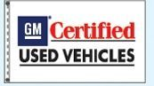 Stock Dealer Logo Flags - Gm Certified Used Vehicles