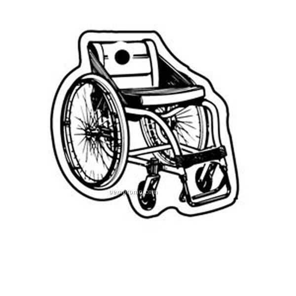 Stock Shape Collection Wheelchair Key Tag