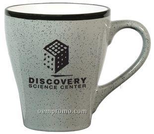16 Oz. Gray Bistro Mug With Black Speckles