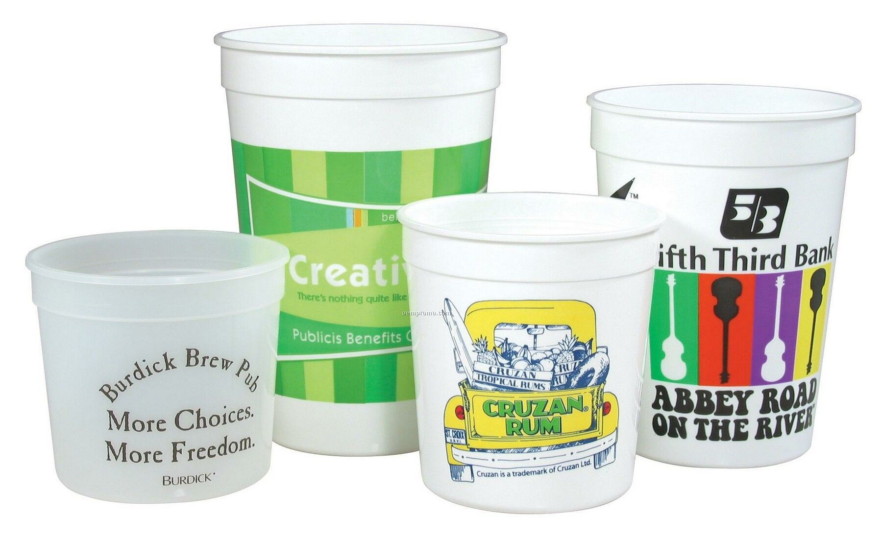 Stadium Cup - Offset Printing (12 Oz.)