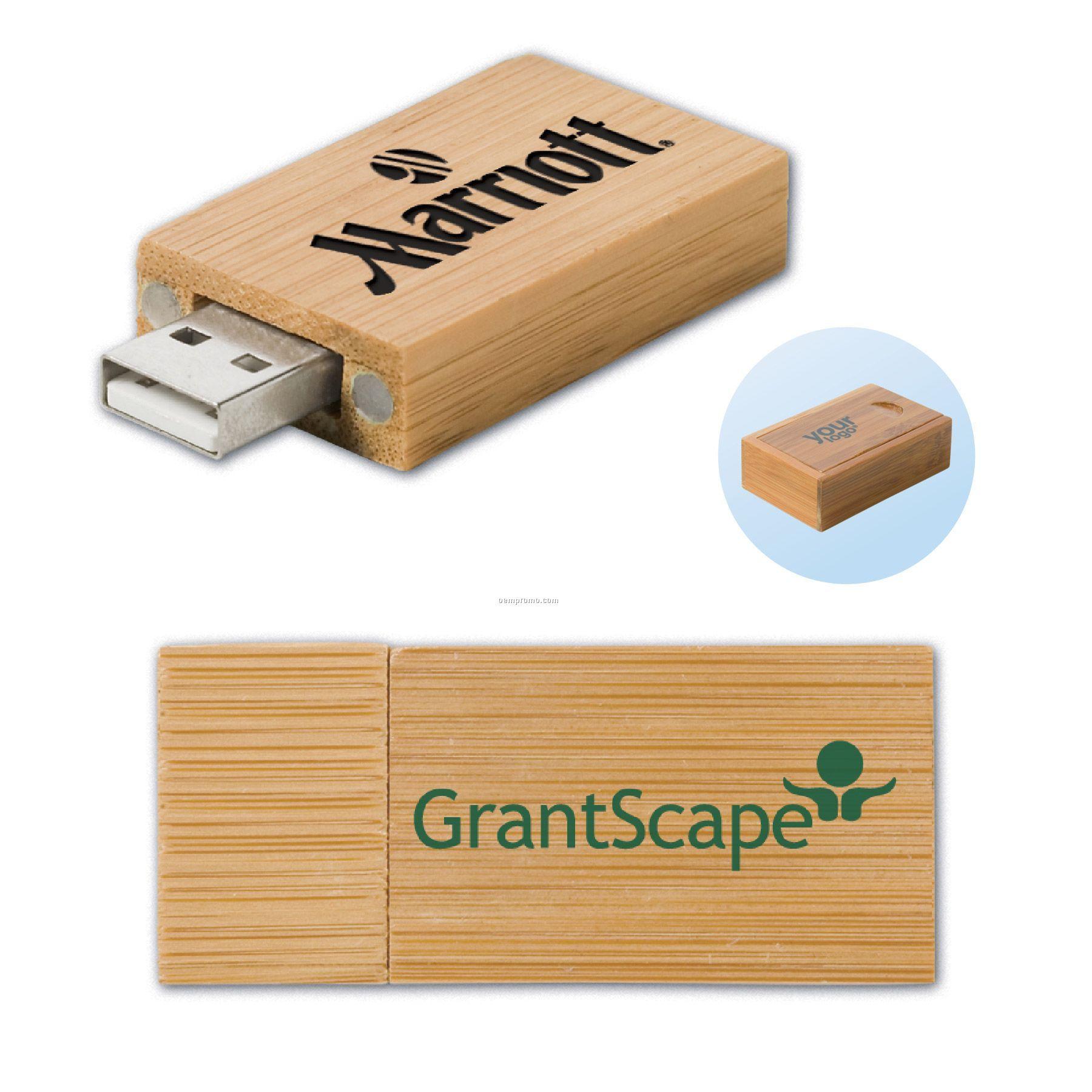 USB 2.0 Bamboo Drive Gb