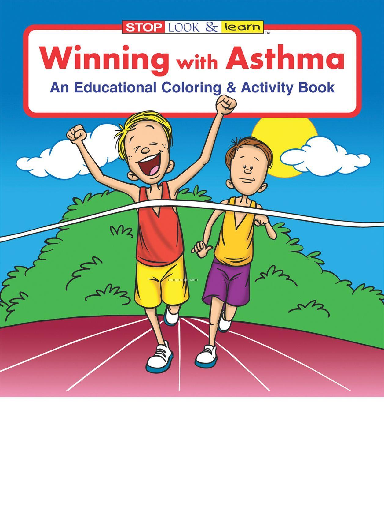 Winning W/Asthma Coloring Book Fun Pack