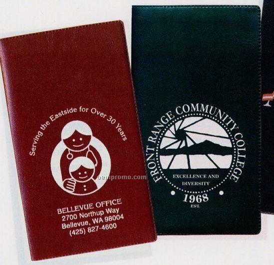 Address Book W/ Castillion Vinyl Cover