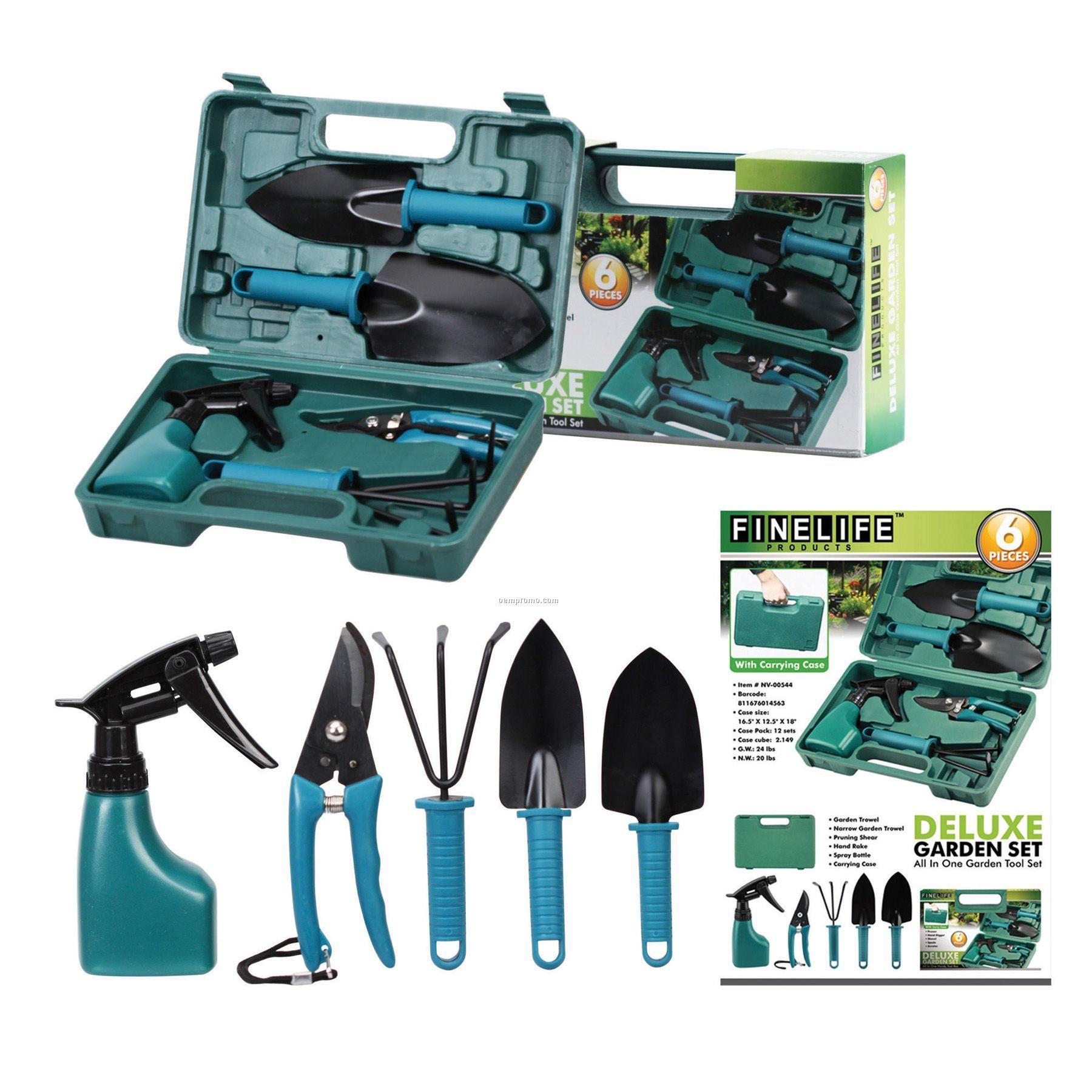Deluxe garden set china wholesale deluxe garden set for Gardening tools kit set