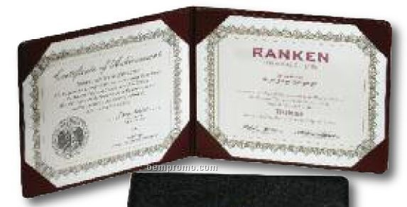 "Padded Diploma Cover / 11 1/2""X9 1/4"""